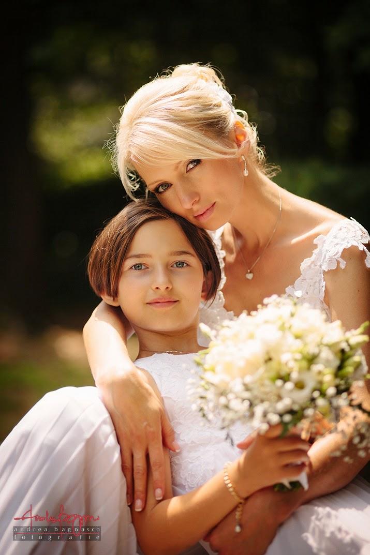 ritratto sposa matrimonio Parco di Arenzano