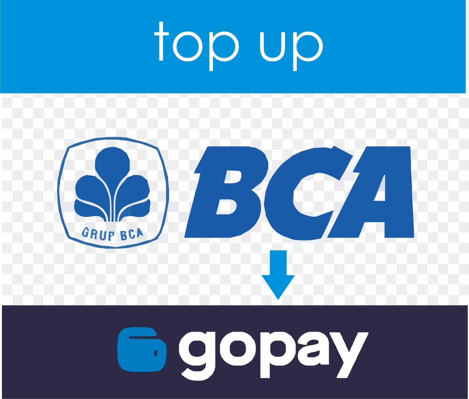 cara top up gopay dari bca