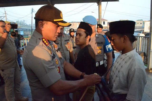 Polisi Amankan Belasan Penumpang di Stasiun Tigaraksa