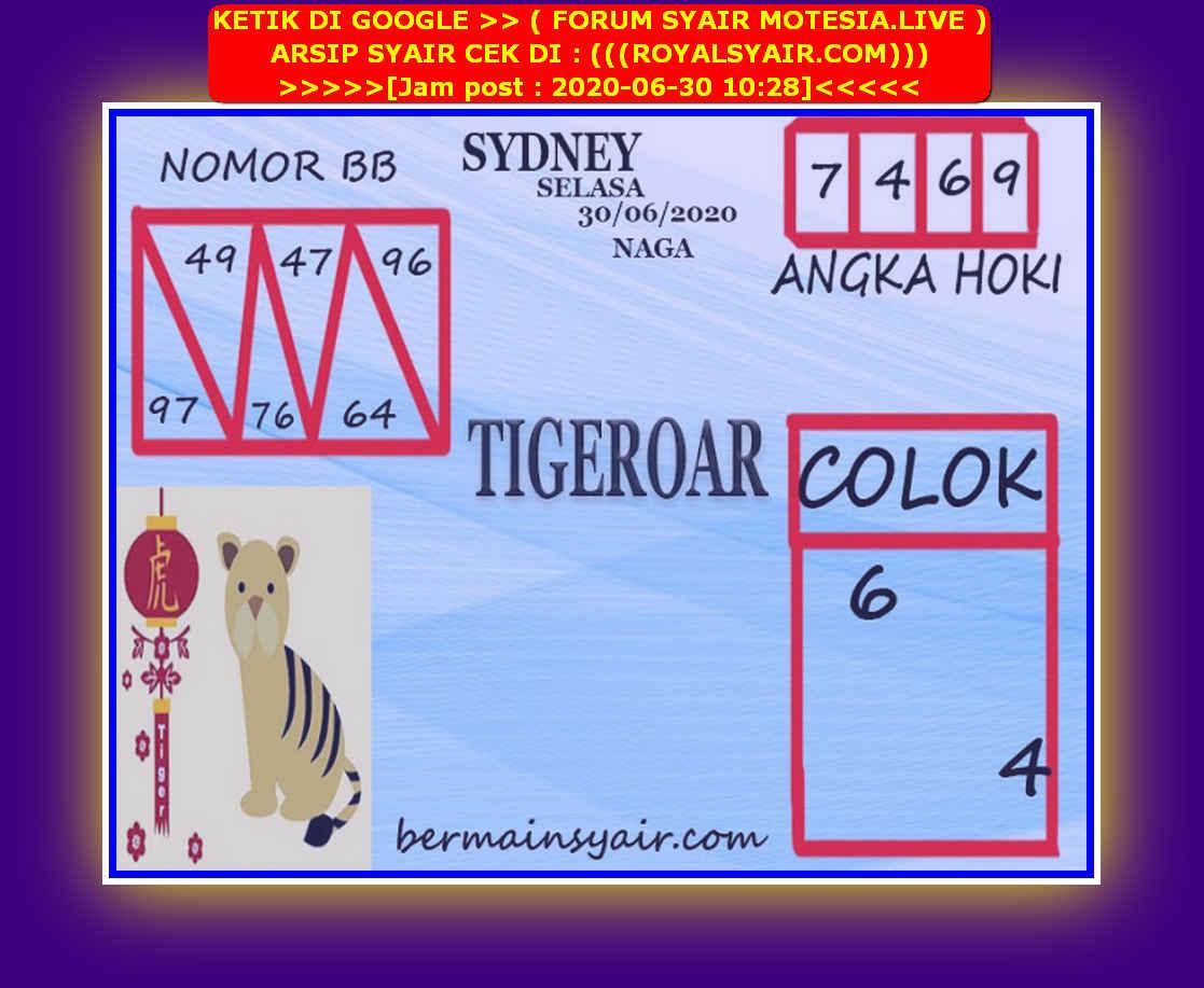 Kode syair Sydney Selasa 30 Juni 2020 226