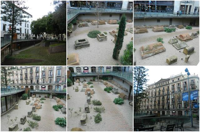 Praças para curtir Barcelona - Plaça de la Vila de Madrid