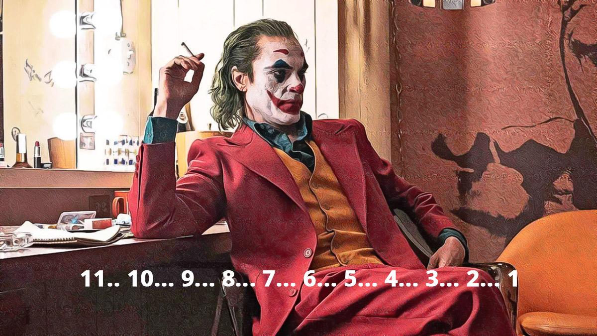 Joker: contagem regressiva escondida no filme acompanha transformação de Arthur Fleck no Coringa