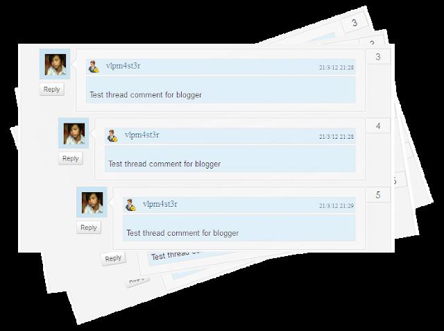 Tạo Khung Cho Các Comments Blogspot