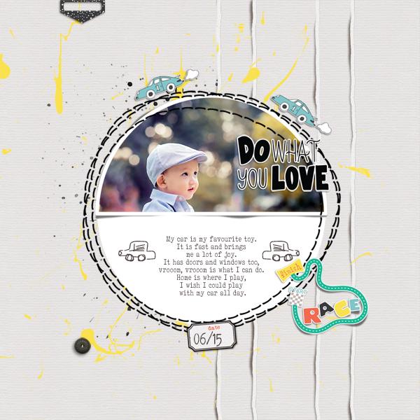my car © sylvia • sro 2019 • a boy life & a boy life / a girl life layered templates by rachel etrog designs