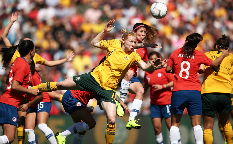Australia y Chile en partido amistoso femenino, 10 de noviembre de 2018