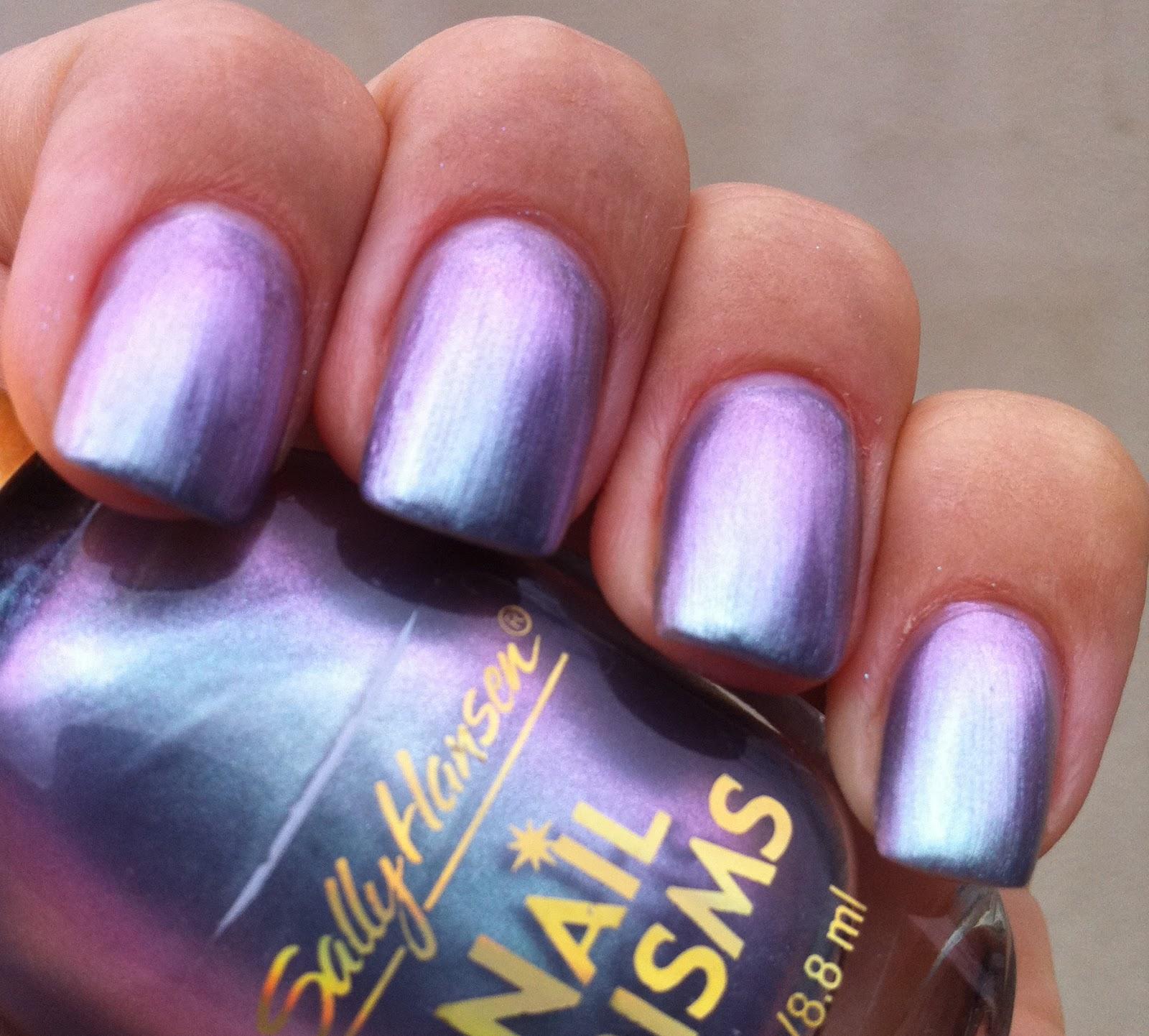 Glam Polish Sally Hansen Nail Prisms Lapis Amethyst