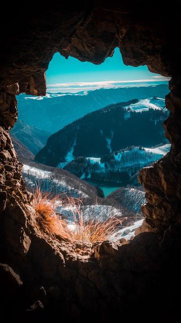 HD Wallpaper Cave, Mountains, Landscape, Horizon