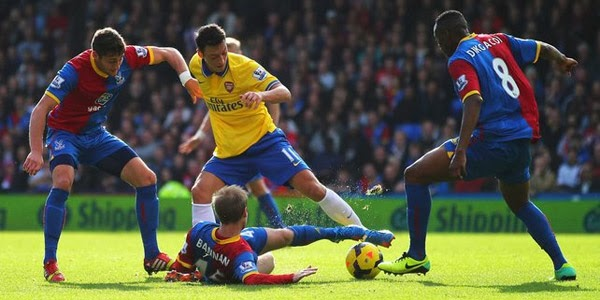 Jadwal Dan Prediksi Arsenal Vs Crystal Palace Liga Inggris Premier