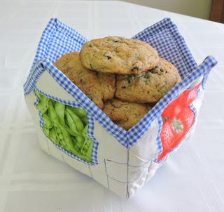Zucchini Raisin Cookies