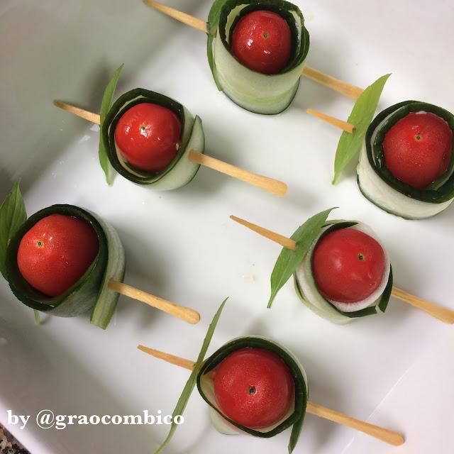 receita fácil aperitivo vegano