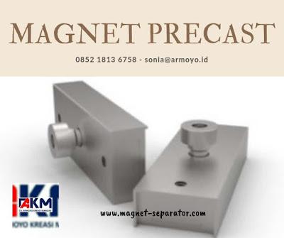 magnet precast