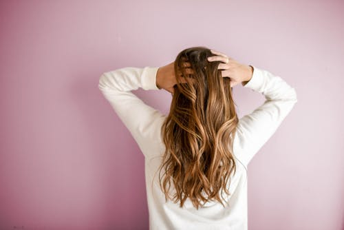 Massage hair with mustard oil