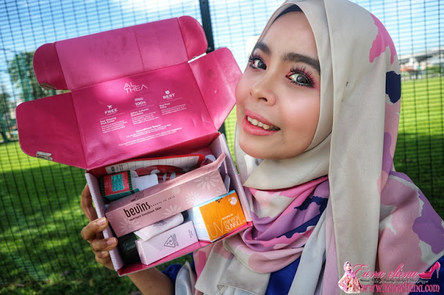 Review Althea 'Born This Way' Beauty Box