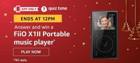 Amazon Quiz 27 December 2019 Answer Today