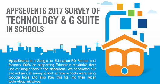 AppsEvents 2017 Survey of Technolgy & G Suite in Schools