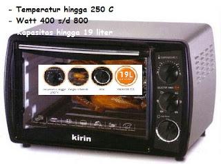 Oven Listrik Kirin kbo-190ra