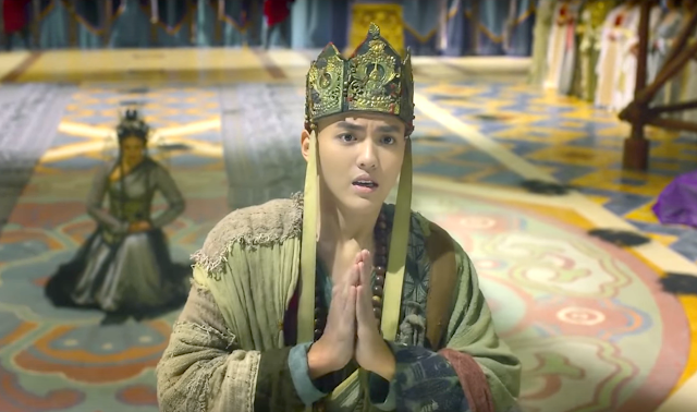 Kris Wu in Journey to the West Conquering the Demons