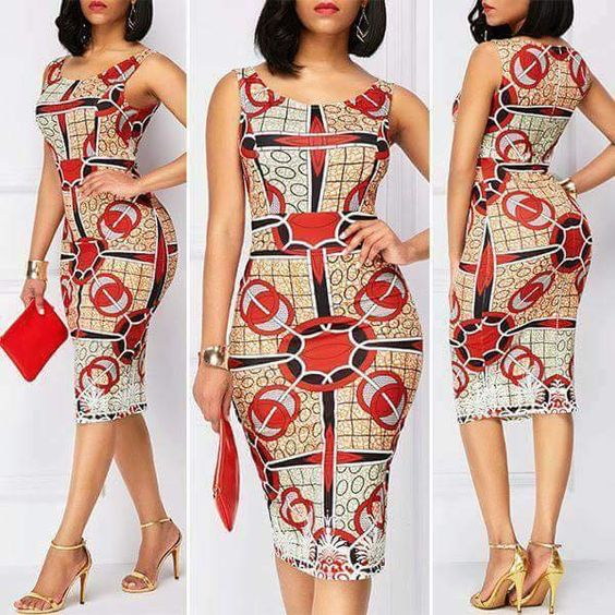 Simple Trendy And Fashionable Ankara Short Gowns For