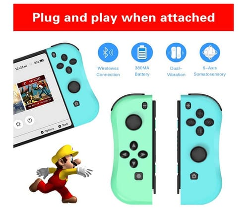 THAVENFLY Joy Con Controller Replacement for Nintendo Switch