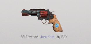 R8 Revolver | Junk Yard Mil-Spec Skin