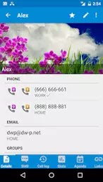 DW Contacts & Phone & Dialer v3.1.6.1 [Patched] Apk