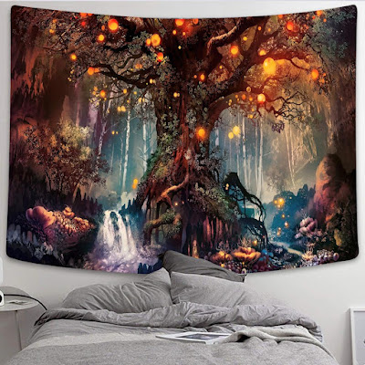 Simsant Mushroom Home Dorm Fantasy Decor
