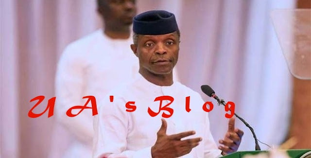 Osinbajo to military: don't just wear uniform, defend Nigeria with your lives