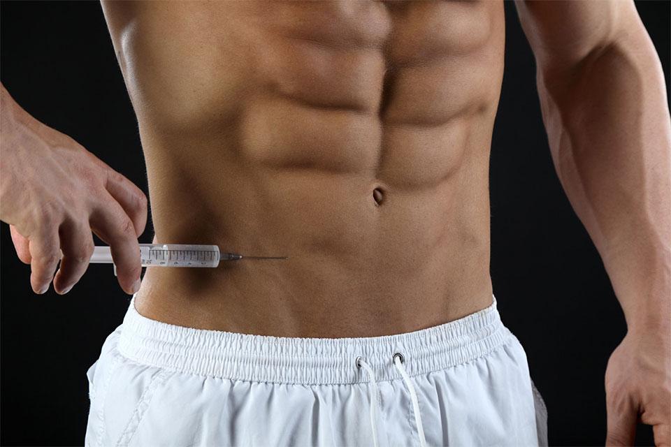 Aplicação de esteroide. Foto: Reprodução