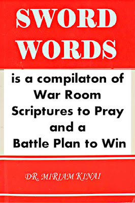 SWORD WORDS is a compilation of War Room Scriptures to Pray and a battle Plan to Win