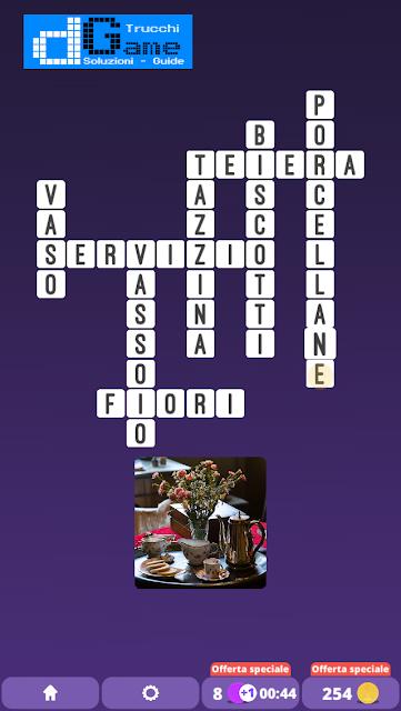 Soluzioni One Clue Crossword livello 8 schemi 14 (Cruciverba illustrato)  | Parole e foto