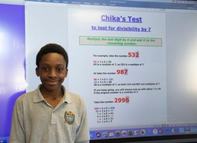 Nigerian Boy,12, Bags UK Award For The Discovery Of New Mathematics Formula