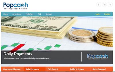 Menghasilkan Dollar Dari Internet Melalui Popcash