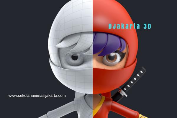 Kursus animasi 3d Jakarta Timur
