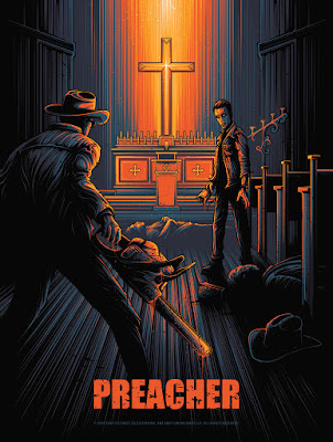 "Preacher Screen Print Series: ""Episode 2"" by Dan Mumford x Gallery 1988"