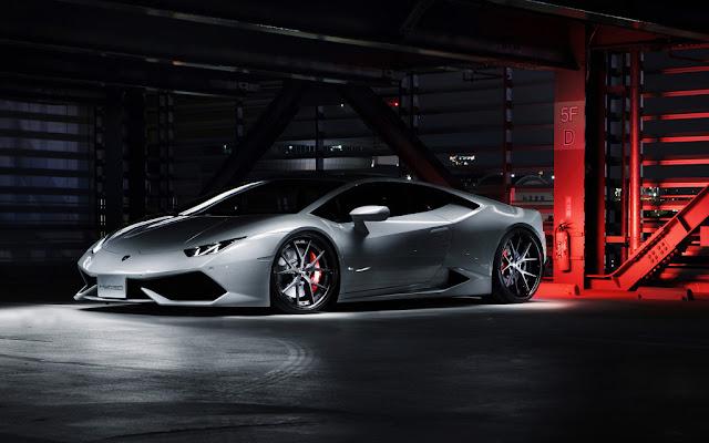 2016 Lamborghini Huracan Desktop Wallpaper