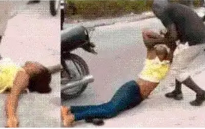 Lady Slumps After Boyfriend Refused To Propose To Her In Lagos