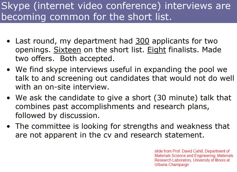 Chemjobber: Skype interviews are not going away