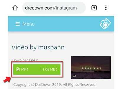 How to download videos on Instragam without an application ...