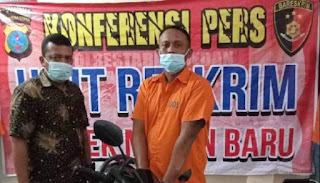 Satu dari Dua Pelaku Pencuri Sepeda Motor dari Jalan Abdul Hamid Medan Ditangkap