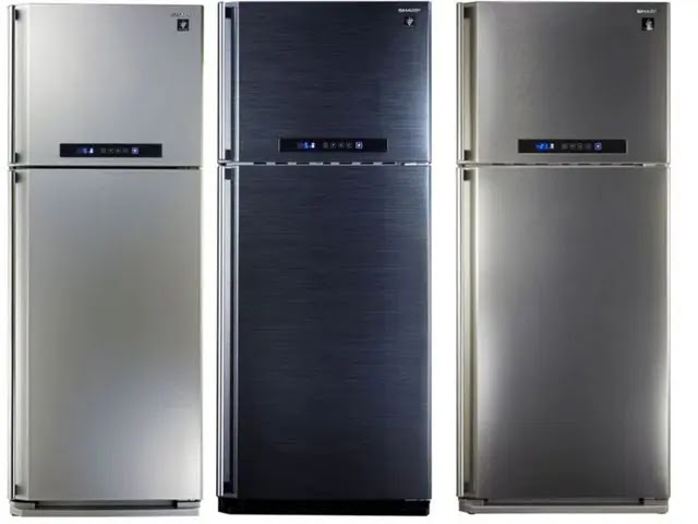 ثلاجة شارب 14 قدم ديجيتال نوفروست  موديل SJ-PC48A