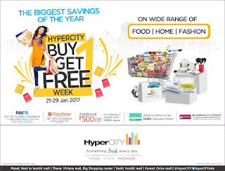 HyperCITY Announces 'Buy 1 Get 1 Free Week' this Republic Day!