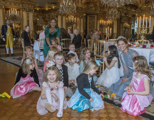 Princess Madeleine of Sweden held a party with the theme of