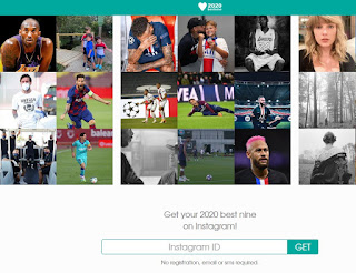 Situs Membuat Top Best Nine Instagram