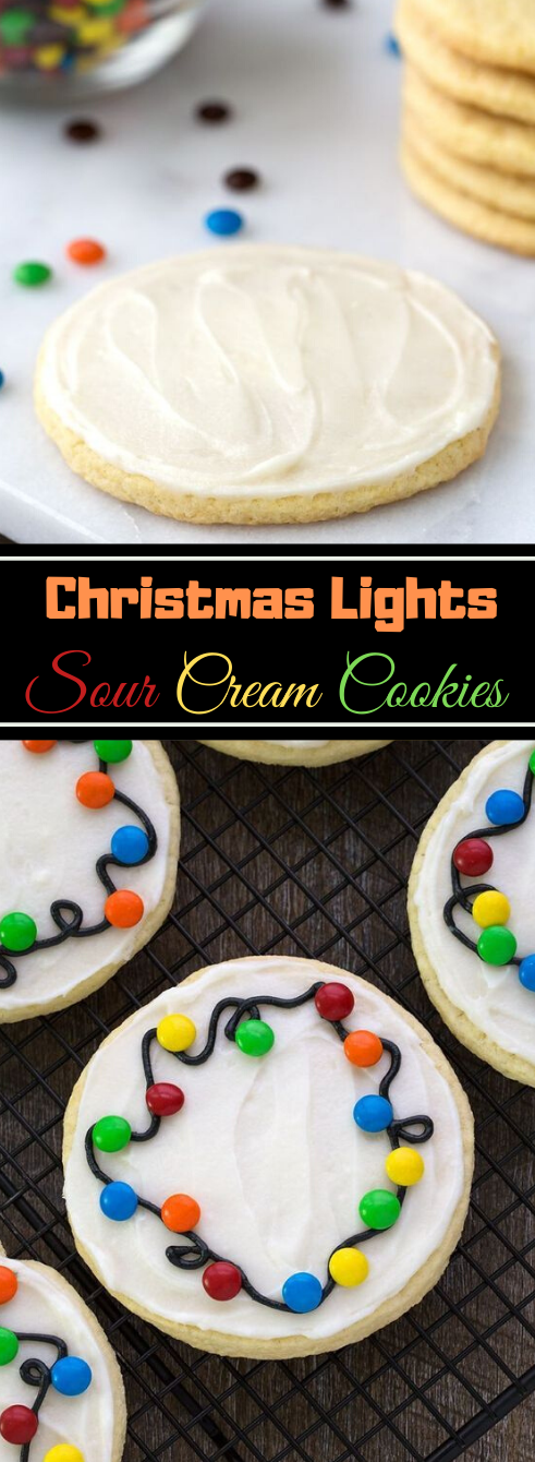 HOW TO MAKE CHRISTMAS LIGHTS COOKIES #desserts #cakes #cookies #pumpkin #easy