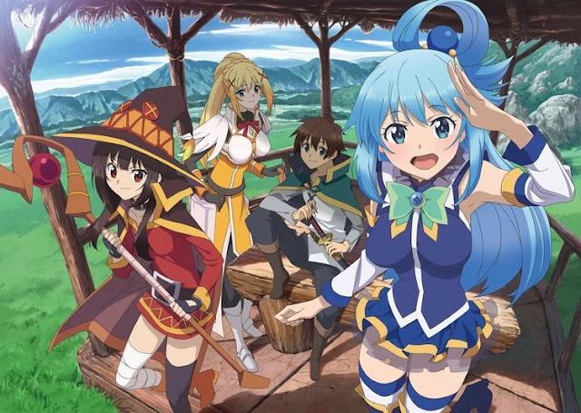 'Kono Subarashii' terá um novo projeto animado