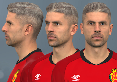PES 2017 Faces Salva Sevilla by WER Facemaker