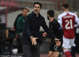 Anyone in the Arsenal camp who is happy right now is at the wrong club: Arteta on Gunners league position