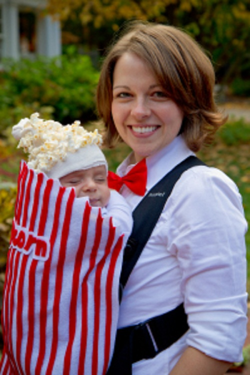 Try these 10 best DIY Halloween costume ideas for baby. Baby first Halloween costume ideas. Popcorn Halloween costume for 0-1 year old baby. DIY homemade Popcorn costume for baby. Awesome and cute homemade baby Halloween costume ideas. DIY Halloween costume for baby boy. DIY Baby Halloween costume ideas. Halloween costume for 0-1 years old baby. Halloween costume for toddlers. Halloween costume for preschool.