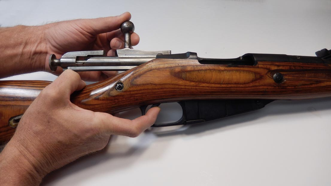 strip field Mosin nagant