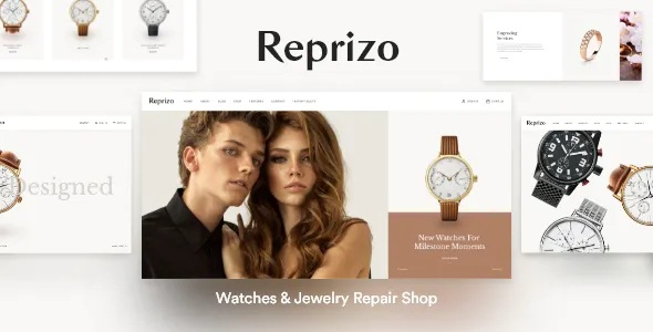 Best Jewelry & Watch Shop WordPress Theme